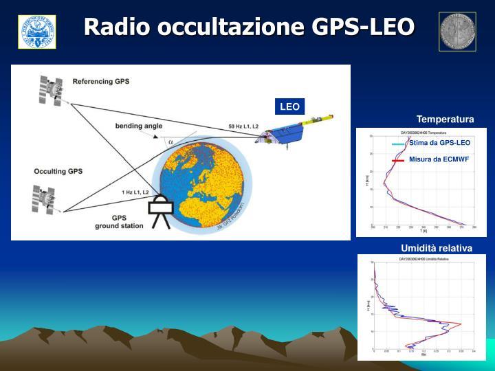 Radio occultazione GPS-LEO
