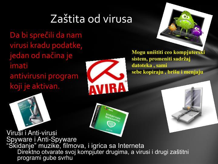 Zaštita od virusa
