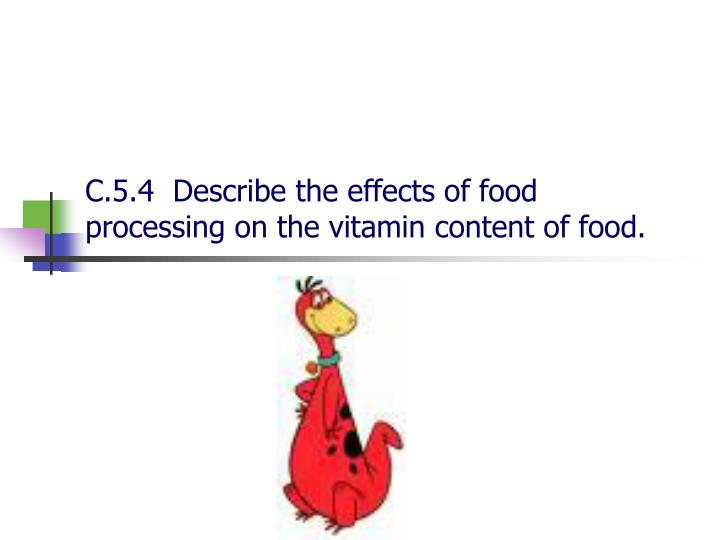 effects of temperature on vitamin c Effects of vitamin c and e dietary supplementation on erythrocyte parameters of layer chickens reared  effects of high ambient temperature and humidity on the birds.