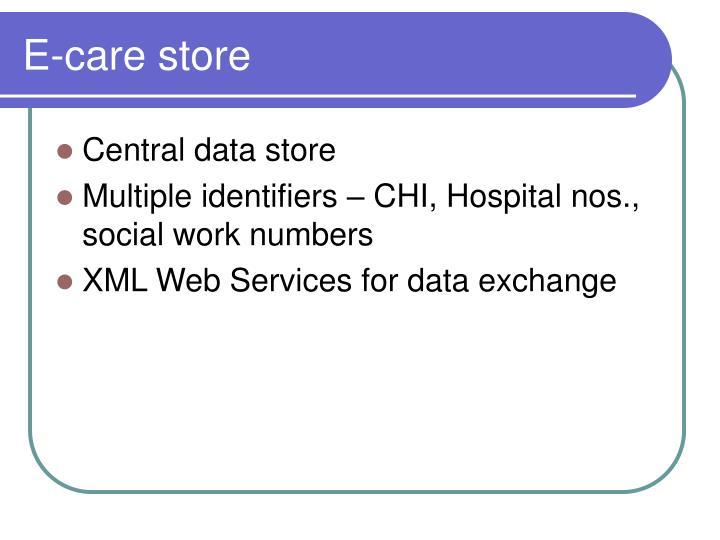 E-care store