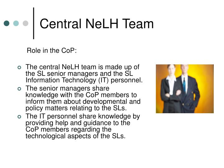 Central NeLH Team