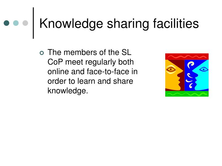 Knowledge sharing facilities