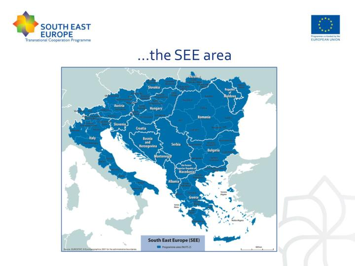 …the SEE area