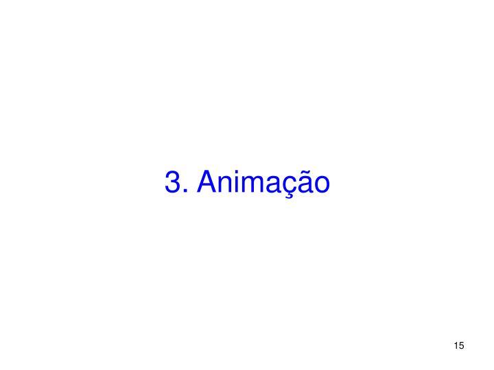 3. Animação