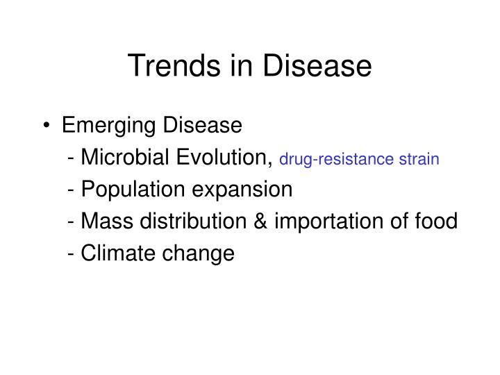 Trends in Disease