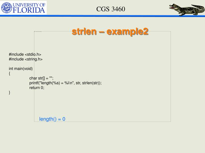 strlen – example2