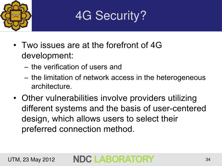 4G Security?