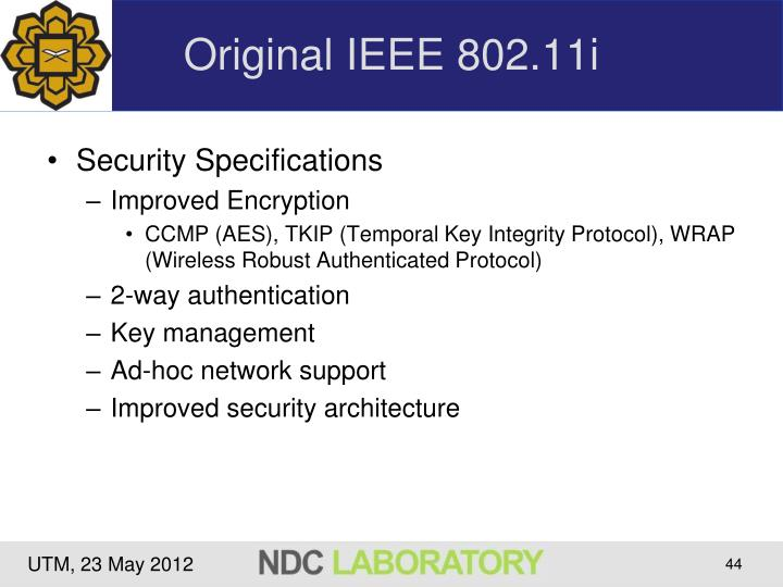 Original IEEE 802.11i