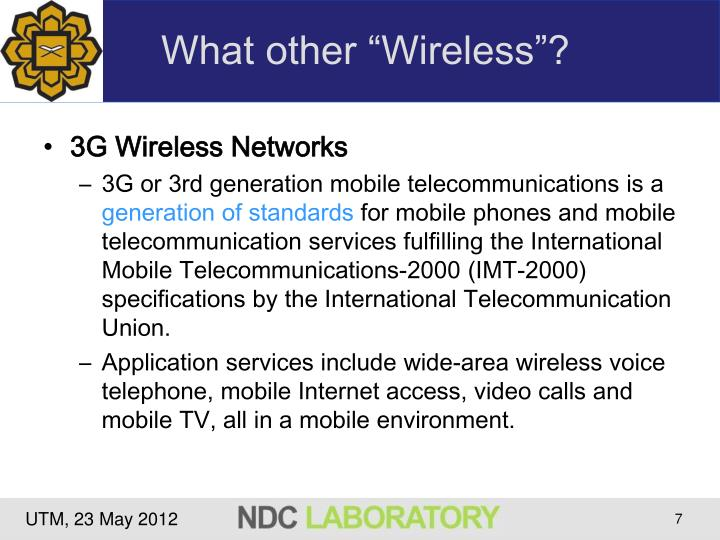 "What other ""Wireless""?"