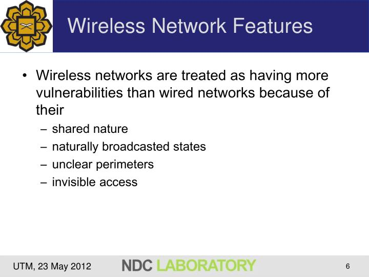 Wireless Network Features