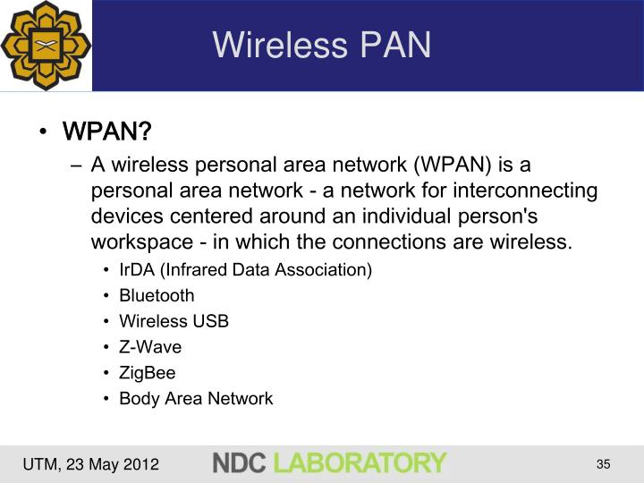 Wireless PAN