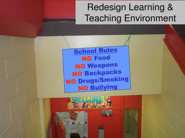 Redesign Learning & Teaching Environment