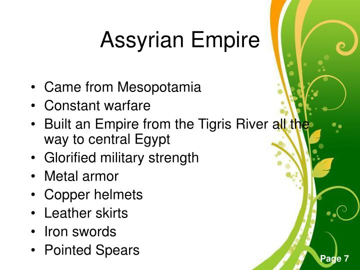Came from Mesopotamia