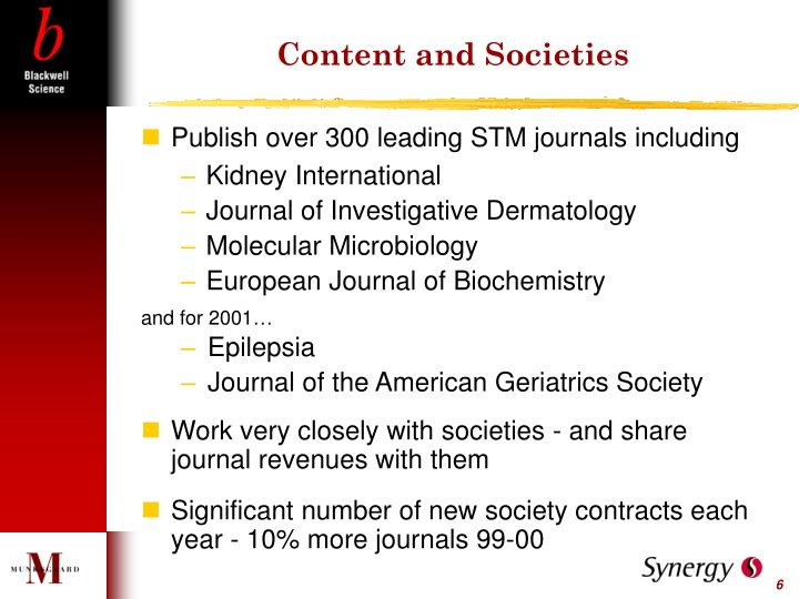 Content and Societies