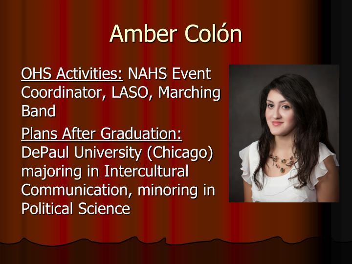 Amber Colón