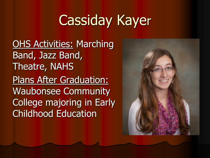 Cassiday Kaye