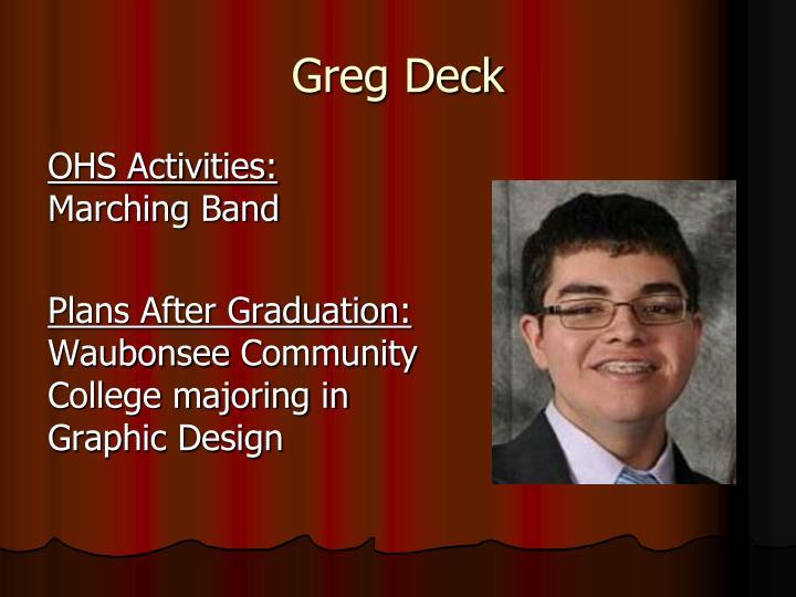 Greg Deck