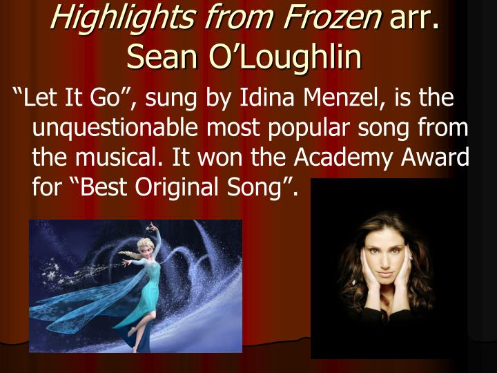 Highlights from Frozen