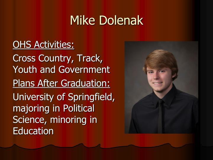 Mike Dolenak