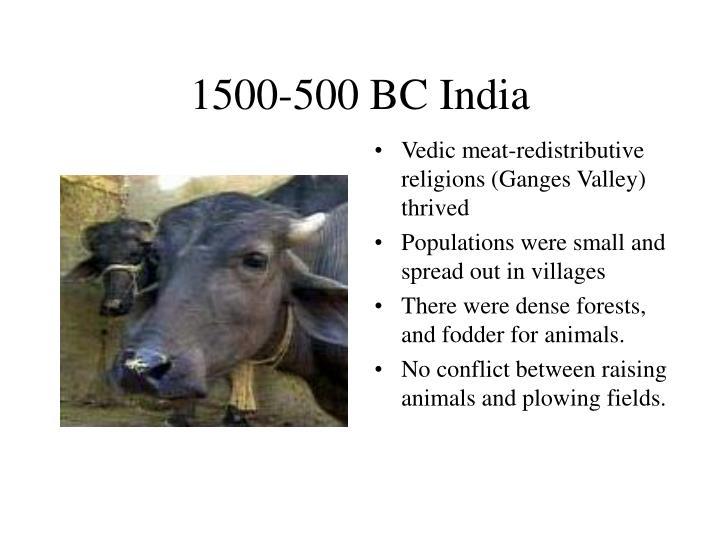 1500-500 BC India