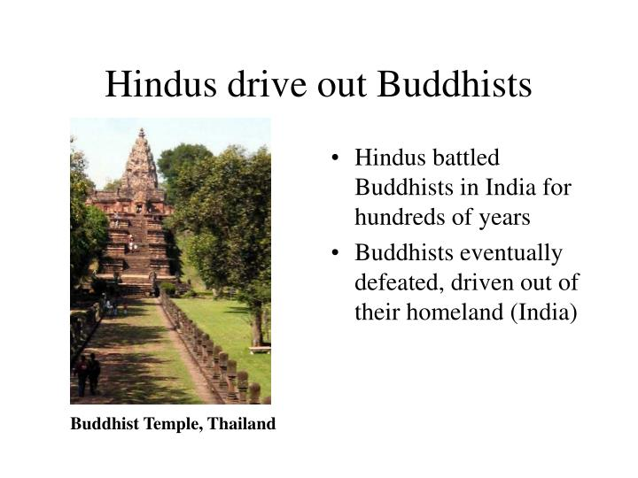 Hindus drive out Buddhists
