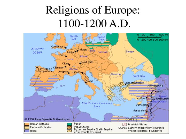 Religions of Europe: