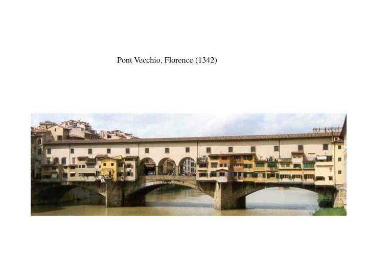 Pont Vecchio, Florence (1342)