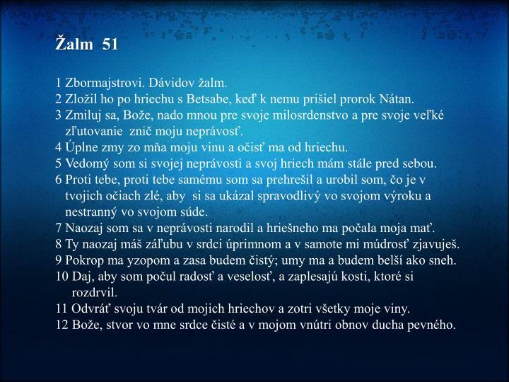 Žalm  51