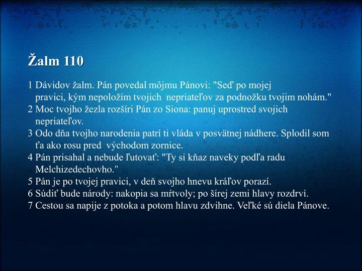 Žalm 110