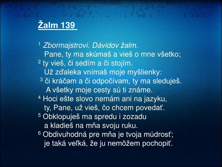 Žalm 139