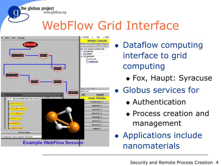WebFlow Grid Interface