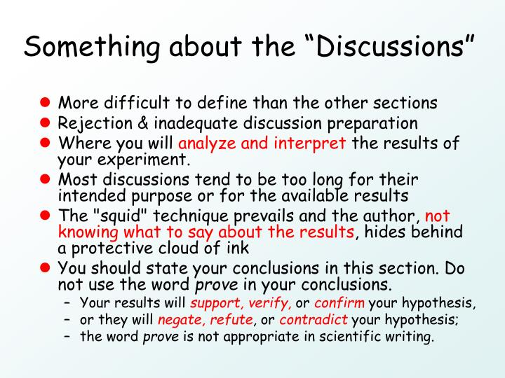 "Something about the ""Discussions"""