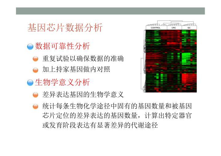 基因芯片数据分析