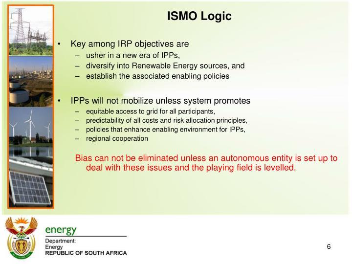 ISMO Logic