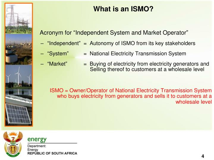 What is an ISMO?