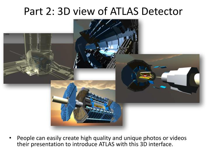 Part 2: 3D view of ATLAS Detector