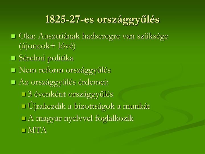 1825-27-es országgyűlés