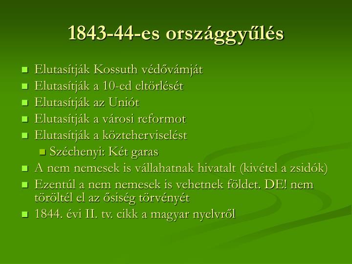 1843-44-es országgyűlés