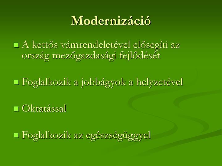 Modernizáció