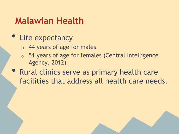Malawian Health