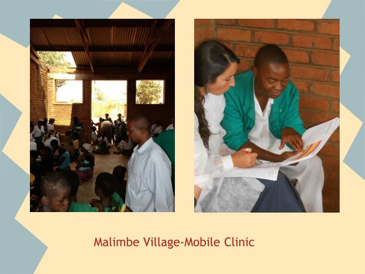 Malimbe Village-Mobile Clinic