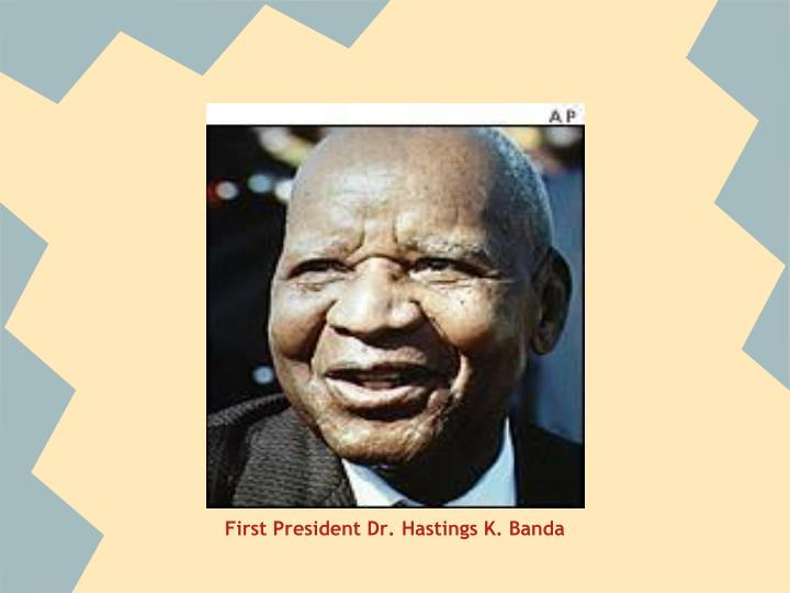 First President Dr. Hastings K. Banda