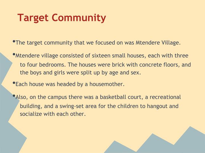 Target Community