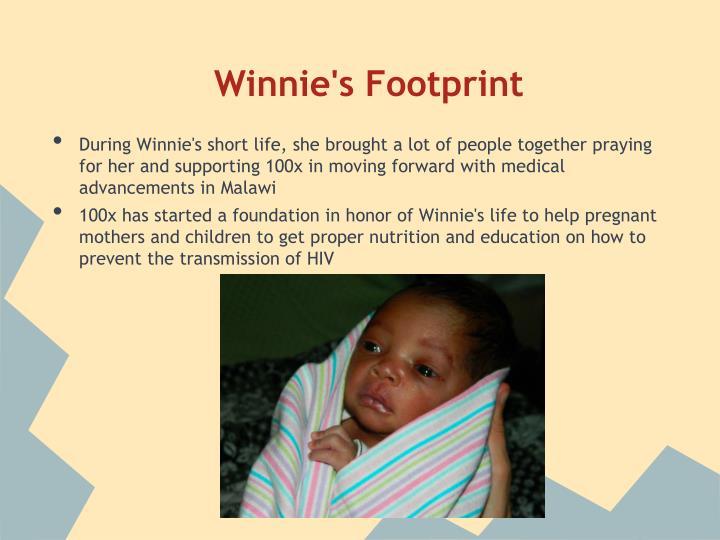 Winnie's Footprint