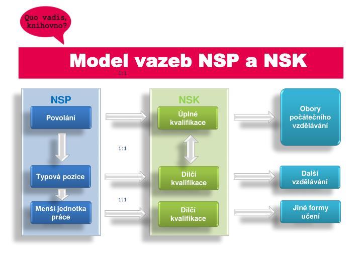 Model vazeb NSP a NSK