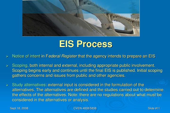EIS Process