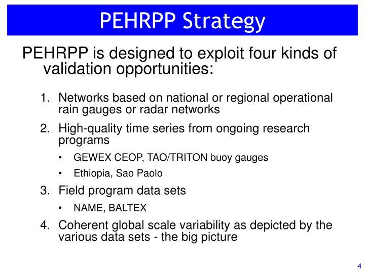 PEHRPP Strategy