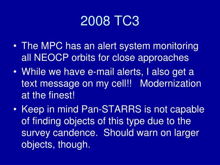 2008 TC3
