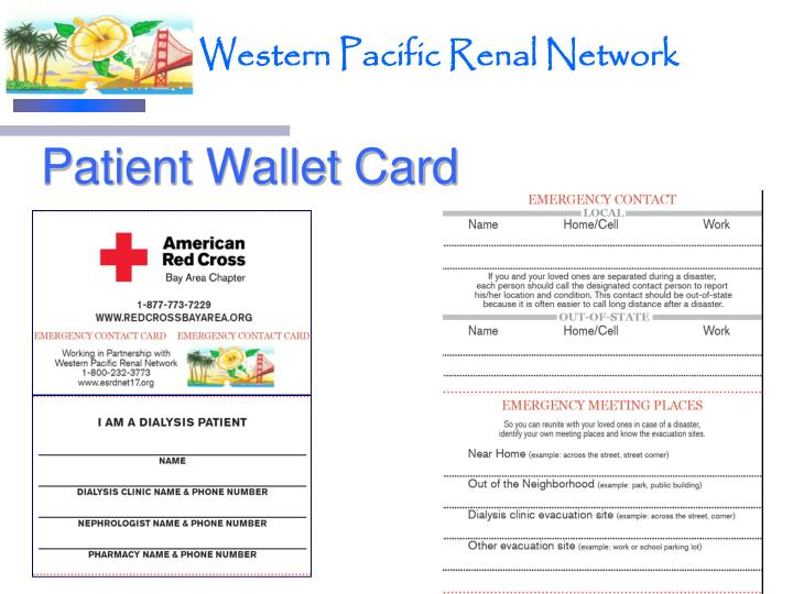Patient Wallet Card