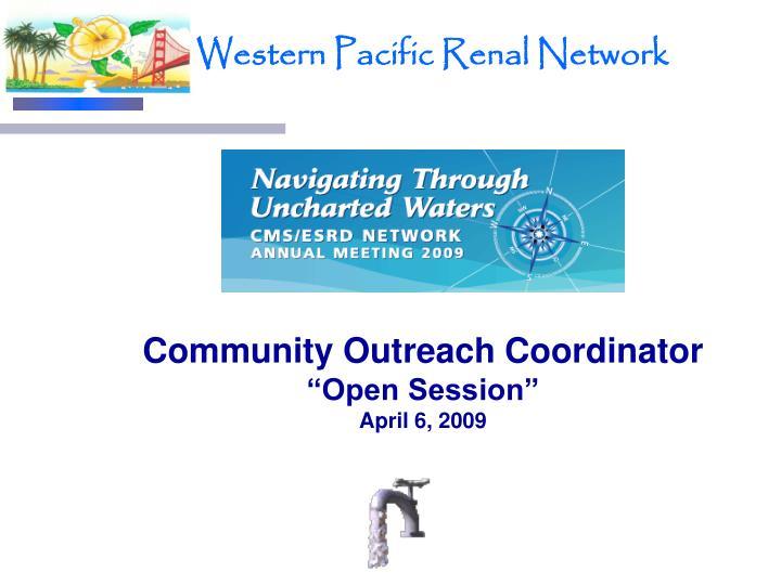 Community Outreach Coordinator